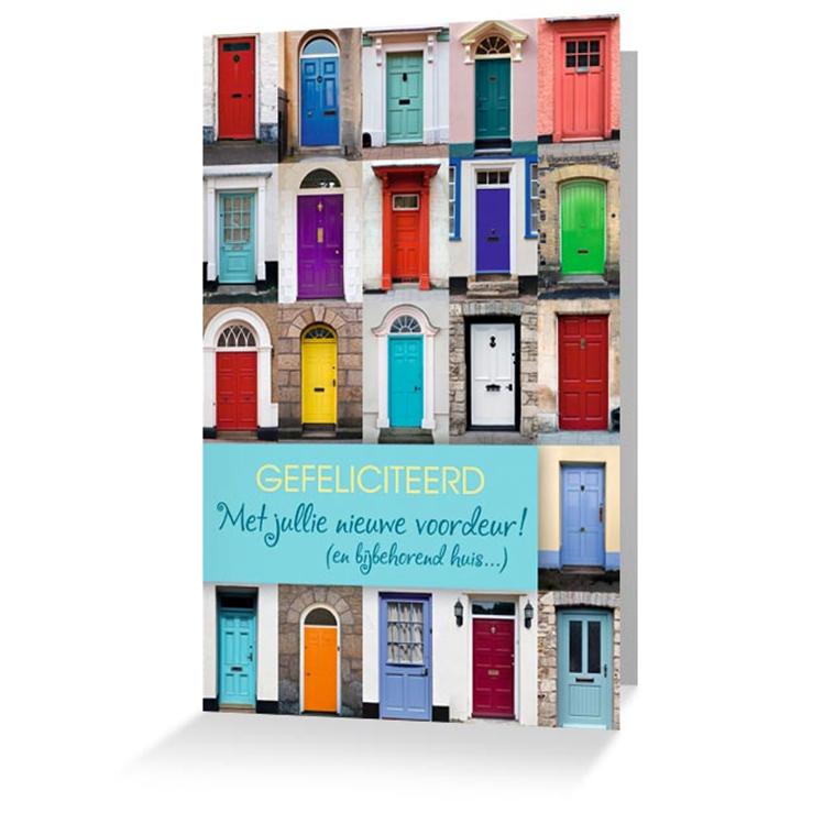 Iemand verhuisd of samen gaan wonen de leukste verhuiskaartjes koop je bij - Nieuw huis ...