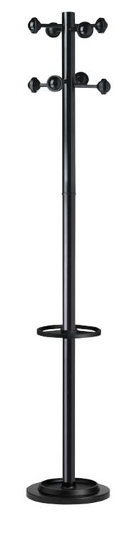 Accueil kapstok zwart for Lampen 500 lux