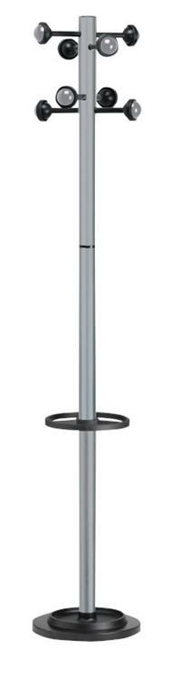 Accueil kapstok metallic grijs for Lampen 500 lux