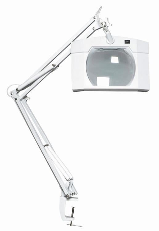 Flexy zoom vergrootglas lamp zwart for Lampen 500 lux