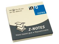 info notes