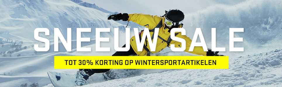 a435c001a8e WINTERSPORT SALE: TOT 30% KORTING