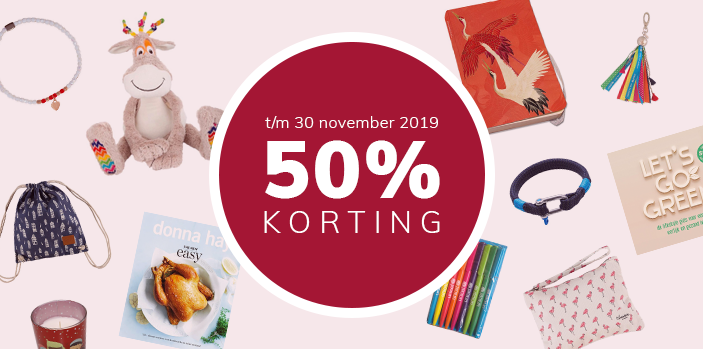 CHARITY WEEKS - 50% KORTING
