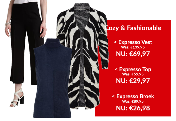 Expresso outfit 3: Cozy & fashionable