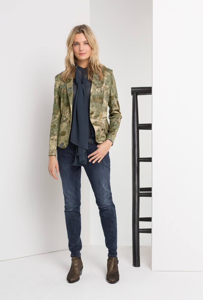Maison Scotch wollen jas
