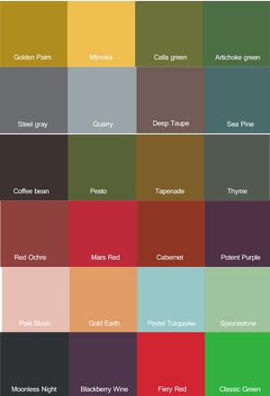 Pantone kleuren 2017 - Taupe kleuren schilderij ...
