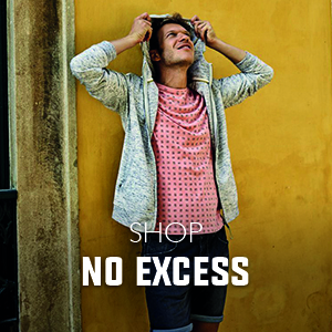 No excess kleding