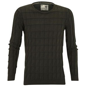 No Excess pullover groen