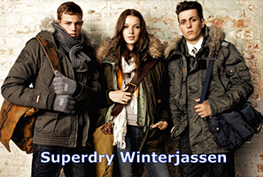 Winterjas Superdry Parka