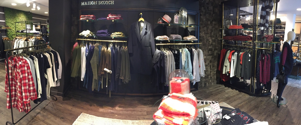 Maison Scotch shop
