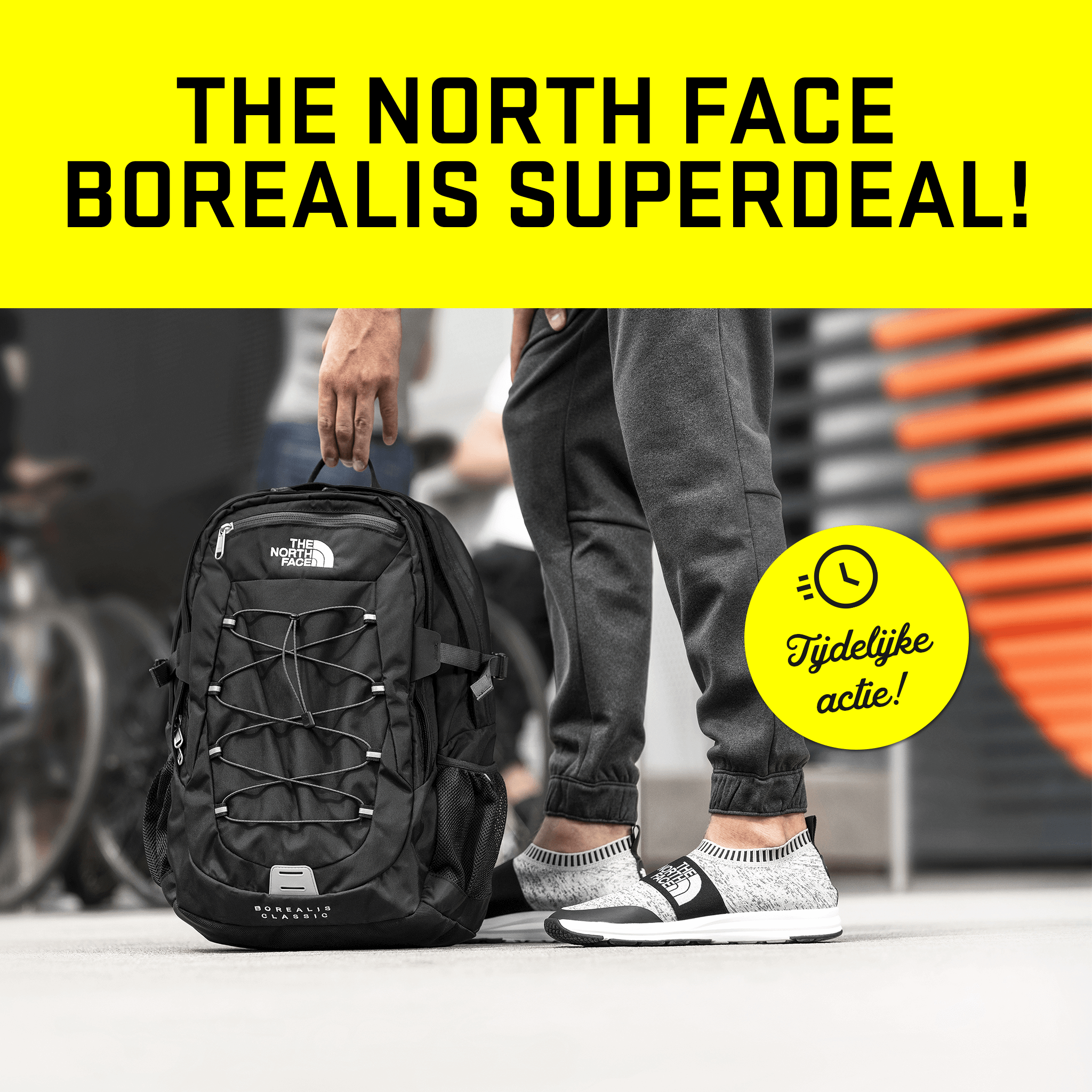 The North Face Borealis Superdeal