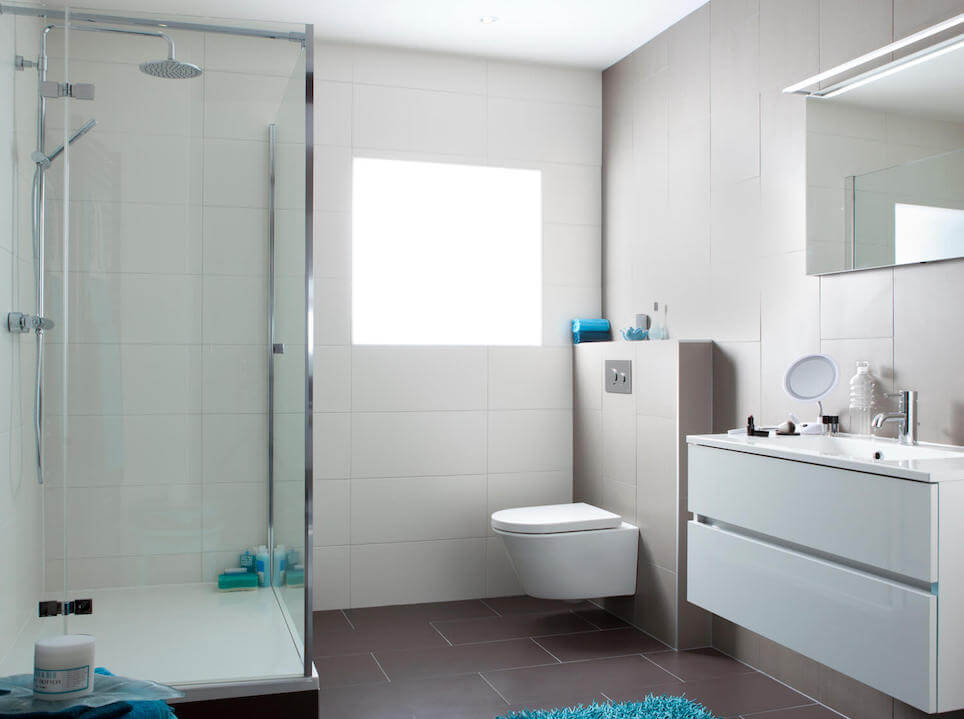 Grote Frisse Badkamer : All in badkamers van baderie geels