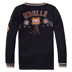Scotch R'belle Jacket met patches