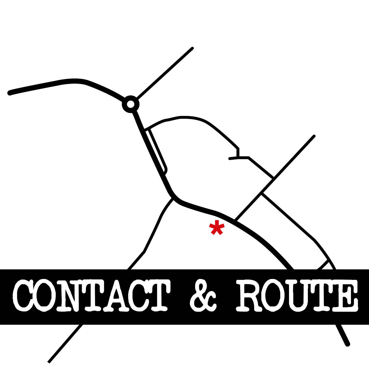 contact & route