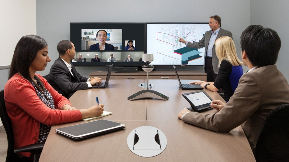 Videoconference, videoconferentie, videobellen, Sky for Business, Polycom, LifeStyle videocall, audio conference, video conference