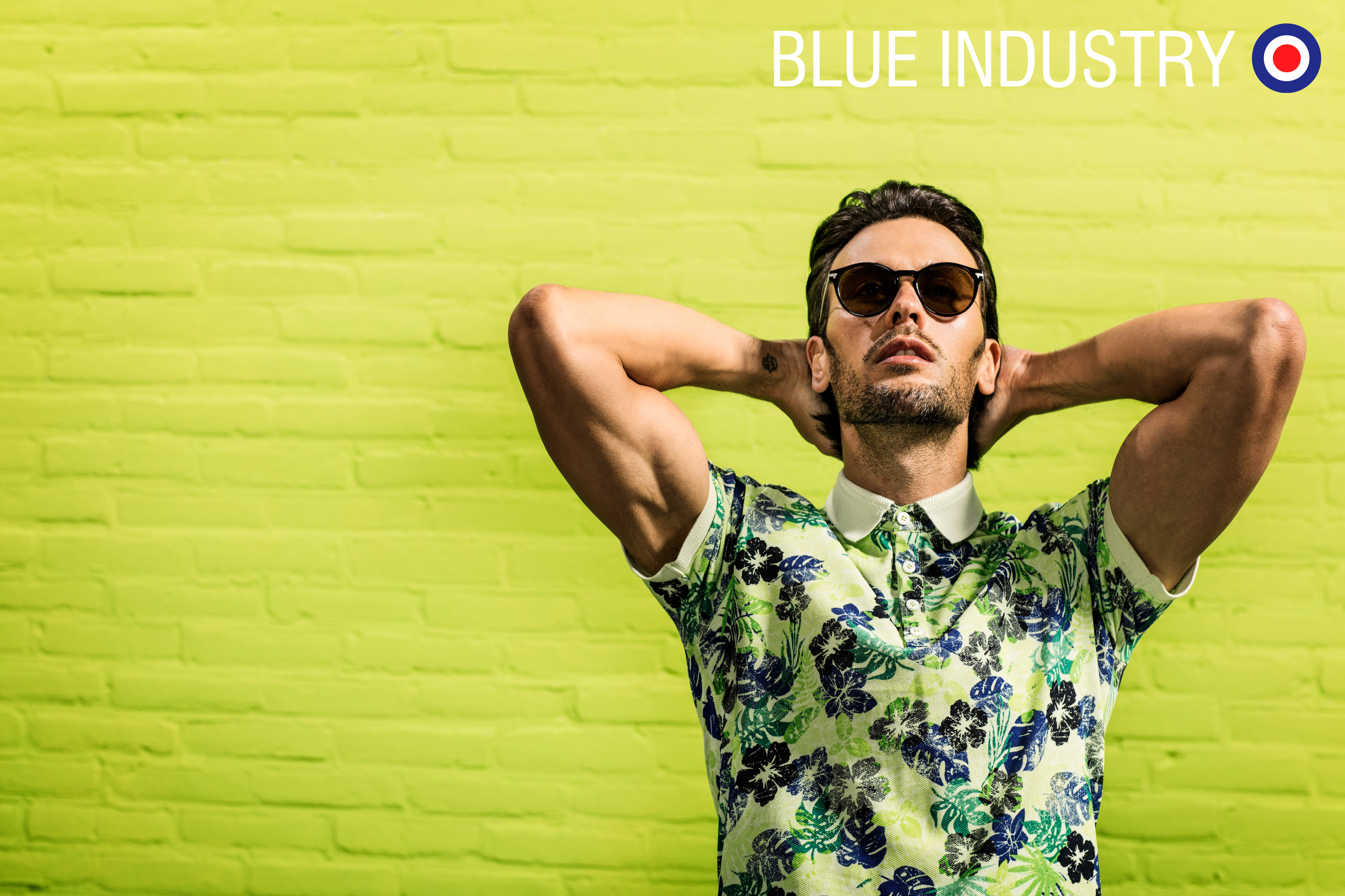 Blue Industry polo's