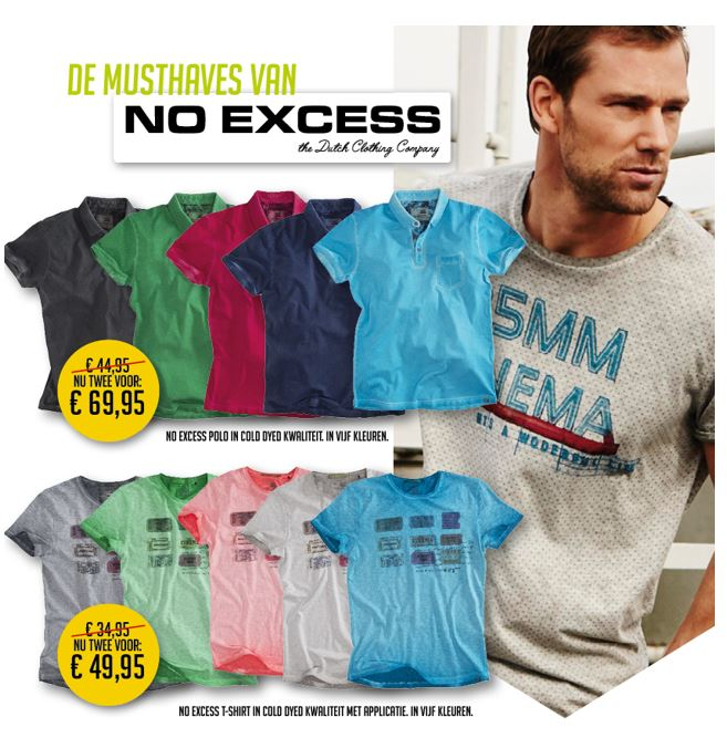 No Excess shirts