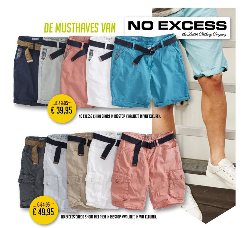 No Excess shorts