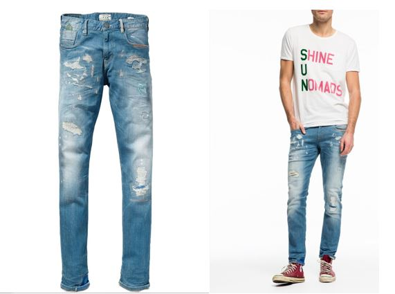 Destroyed jeans Scotch and Soda