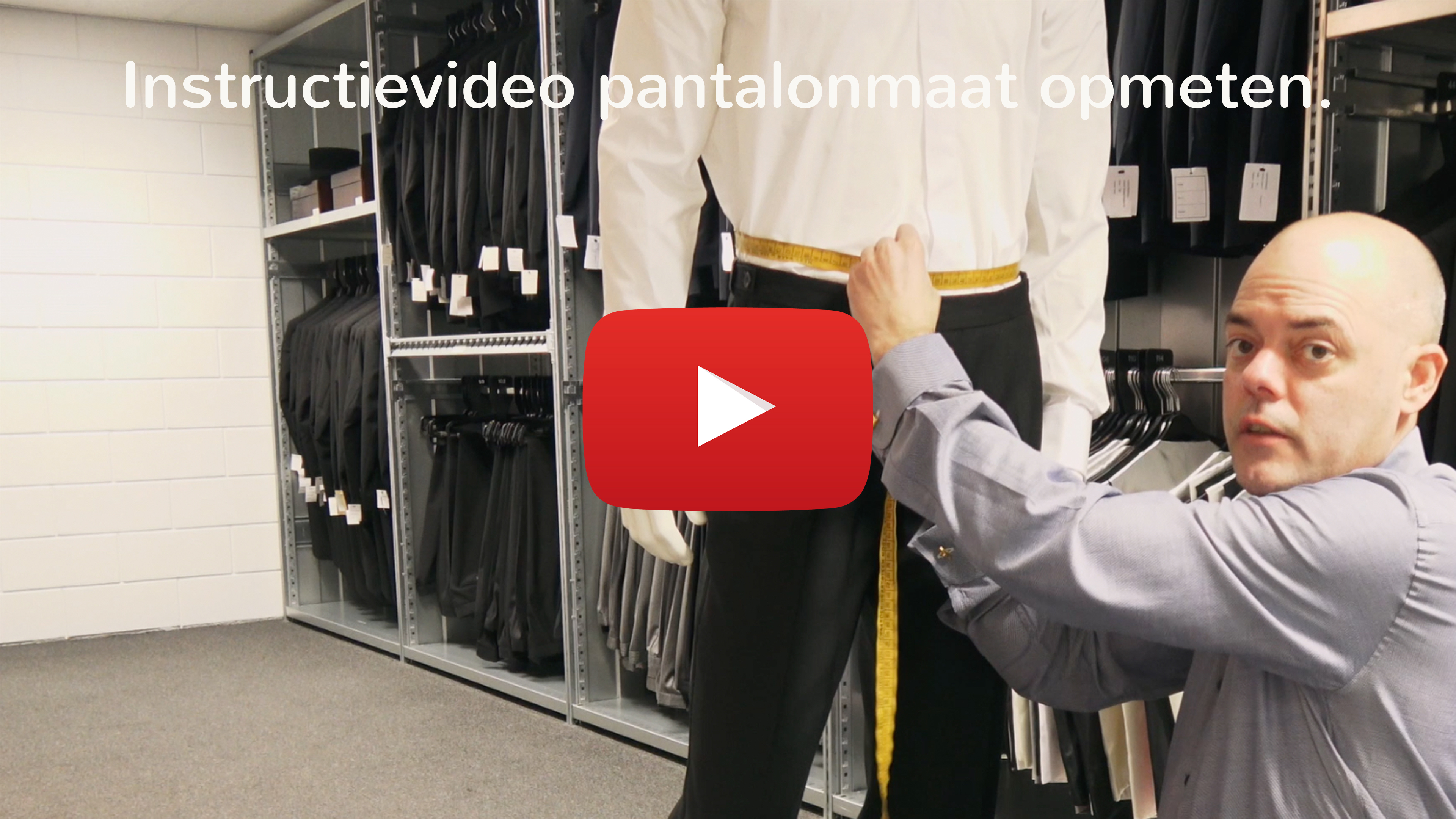 Instructievideo pantalonmaat opmeten