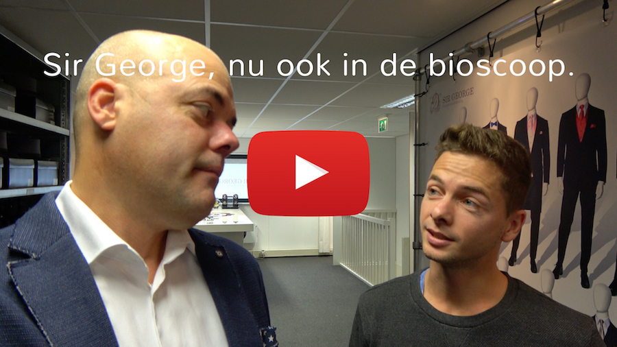 Sir George nu ook in de bioscoop