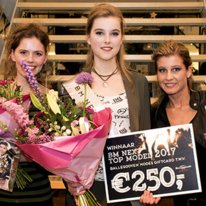 De finalisten en winnares van BM Next Top Model 2017