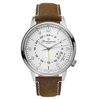 Fromanteel GMT white vintage dark brown