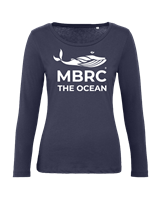 MBRC LONG SLEEVE - WOMAN - NAVY BLUE