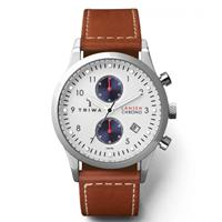 Triwa horloge Duke Lansen Chrono Brown sewn