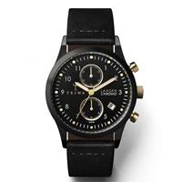 Triwa horloge Midnight Lansen chrono black