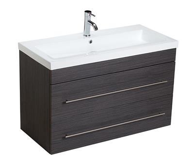 Badmeubel Liberty Royal 100 cm Grey Oak