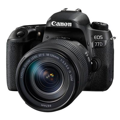 Canon EOS77D + 18-135mm IS USM