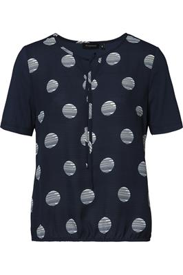Blouse Dots Navy