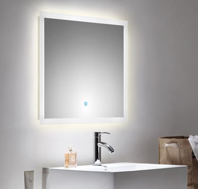 Spiegelkast Badkamer 60 Cm.Spiegel Touch Led 70 X 60 Cm