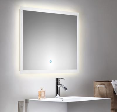 spiegel touch led 80 x 60 cm. Black Bedroom Furniture Sets. Home Design Ideas
