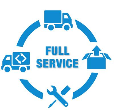 Full Service Witgoed
