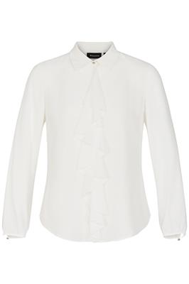 Blouse Volant Off White