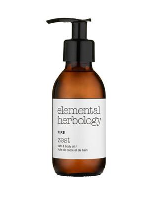 Elemental Herbology - Fire Zest Bath & Body Oil - 145 ml