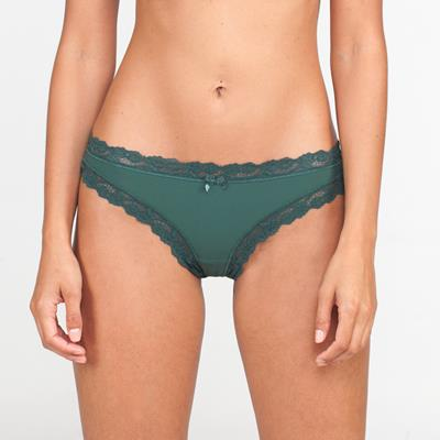 Chloe Thong Green