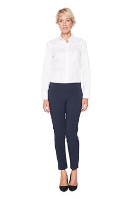 Broek Eva Slim Fit Navy