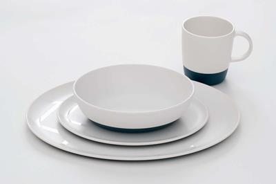Mooi Servies Set.Servies Glazen Bestek