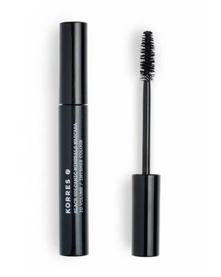 Korres - Black Volcanic Minerals Mascara 01 Black - 9 ml