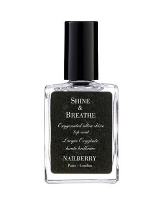 Nailberry - Shine & Breathe Top Coat - 15 ml