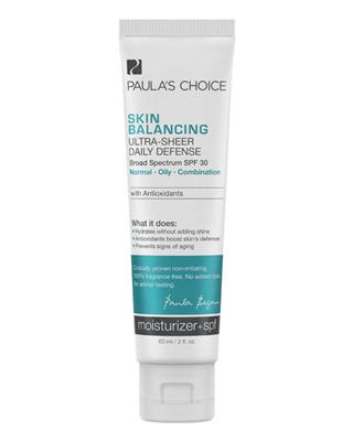 Paula's Choice - Skin Balancing Ultra Light Sheer Daily Defense SPF30 - 60 ml