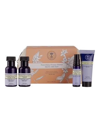 Neal's Yard Remedies - Nourishing Orange Flower Skincare Kit - 2 x 25 ml + 8 ml +15 ml