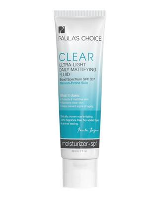 Clear Ultra-Light Daily Mattifying Fluid SPF30+ - 60 ml