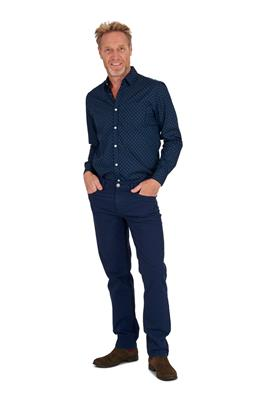 Broek Mike Gwent Donkerblauw L34