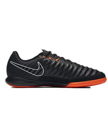 Nike - Tiempo Cuir Genio Salle Ic Jr De Football - Unisexe - Le Football - Noir - 35,5