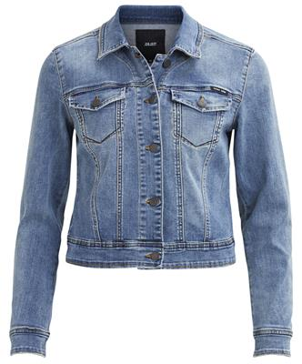 OBJWIN NEW HER L/S DENIM JACKET NOOS Medium Blue Denim
