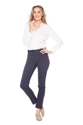 Broek Claudia Slim Fit Navy